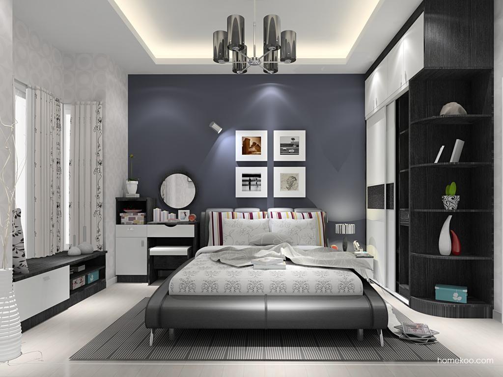 简约主义卧房家具A12203