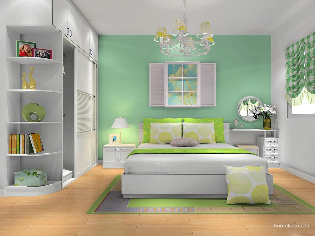 韩式田园卧房家具A12276