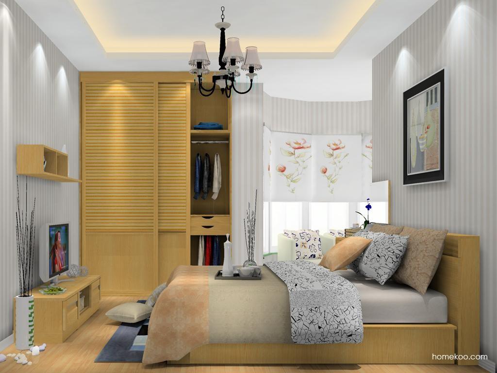 丹麦本色卧房家具A12266