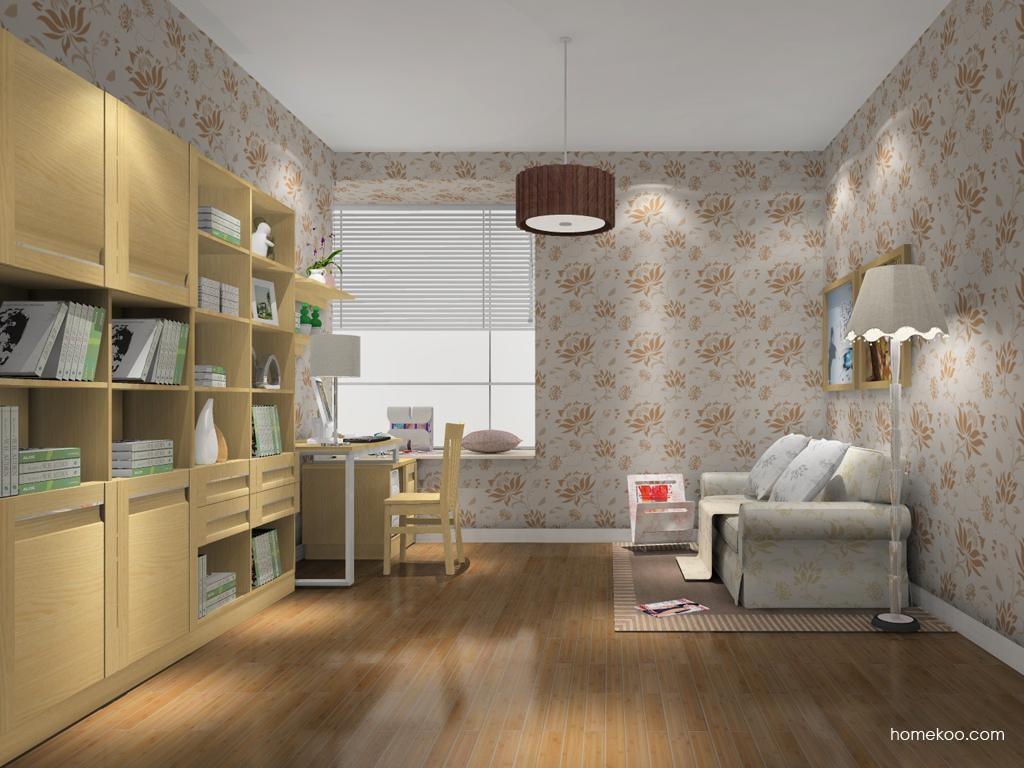 丹麦本色书房家具C10702