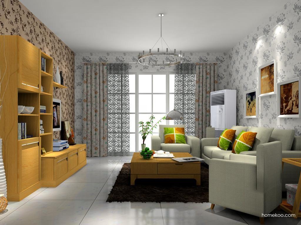 丹麦本色客厅家具D9291