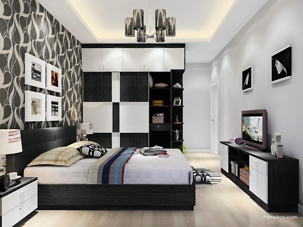 简约主义卧房家具A12377