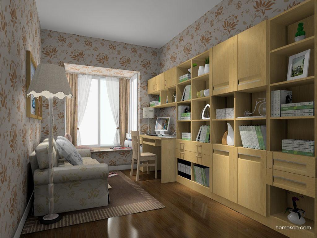 丹麦本色书房家具C10711