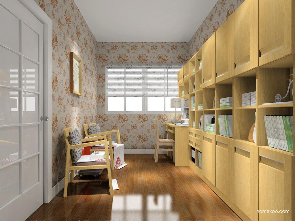 丹麦本色书房家具C10713