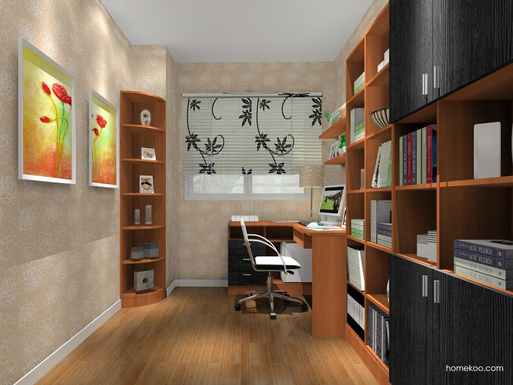 新实用主义书房家具C10714