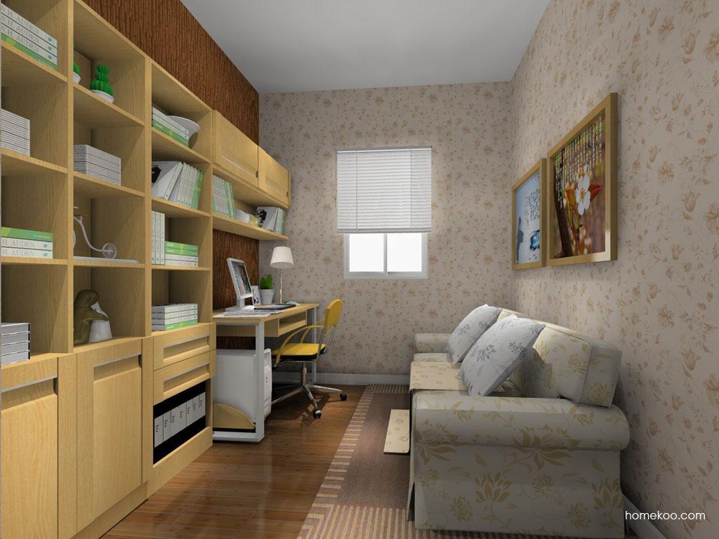 丹麦本色书房家具C10715