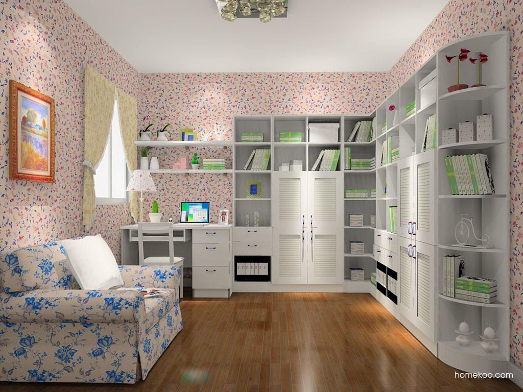 韩式田园书房家具C10719