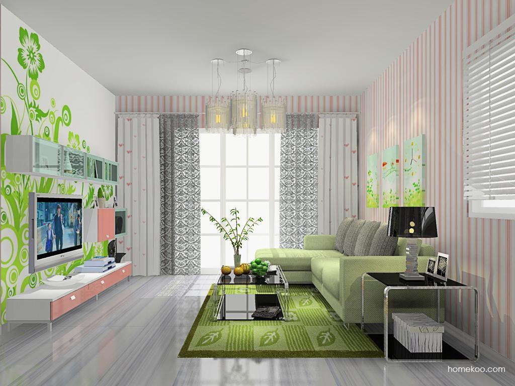 浪漫主义客厅家具D9309