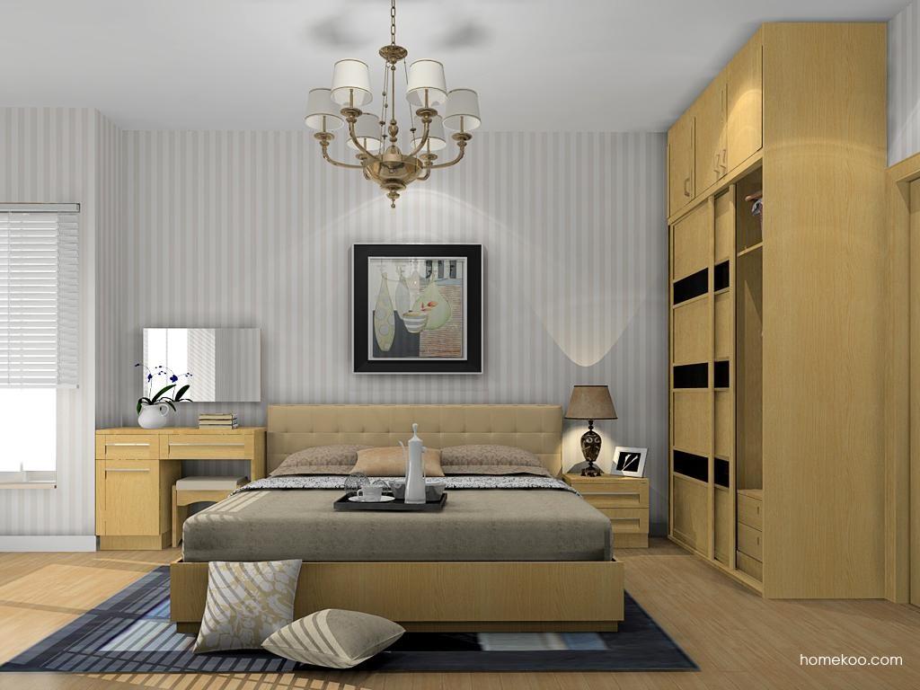 丹麦本色卧房家具A12399