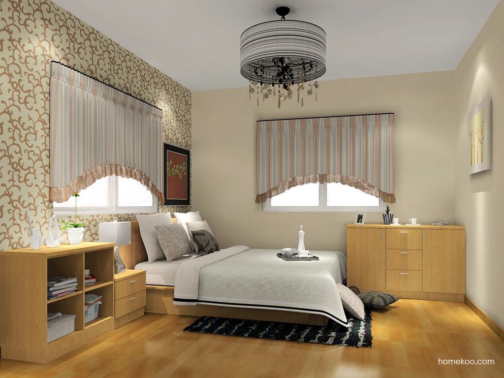 新实用主义卧房家具A12404