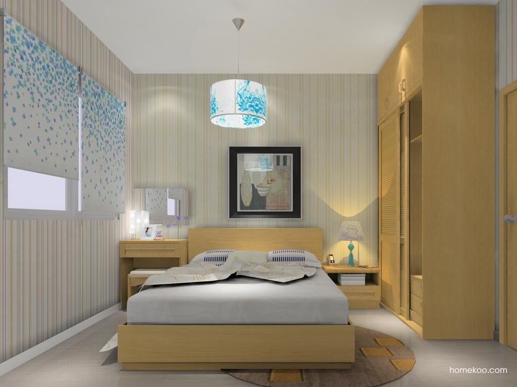 丹麦本色卧房家具A12407