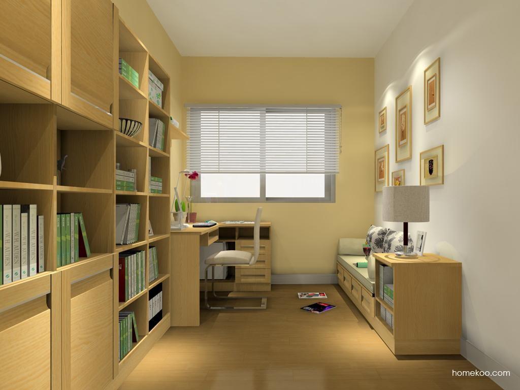 丹麦本色书房家具C10737
