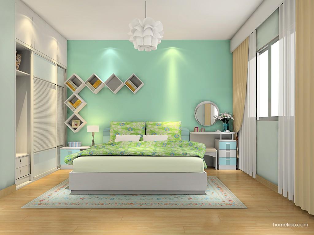 浪漫主义卧房家具A12514