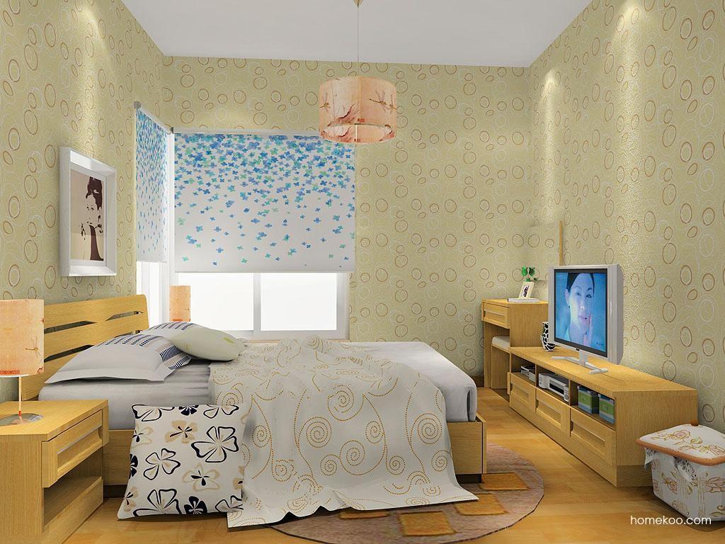 丹麦本色卧房家具A12494