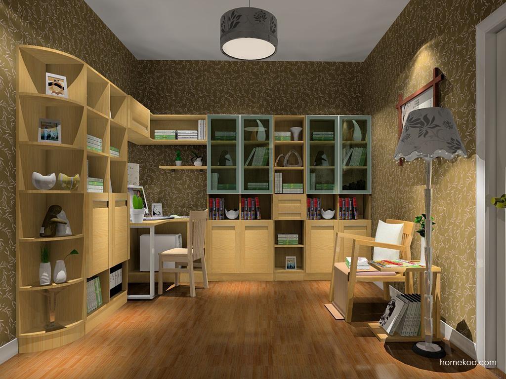 丹麦本色书房家具C10745