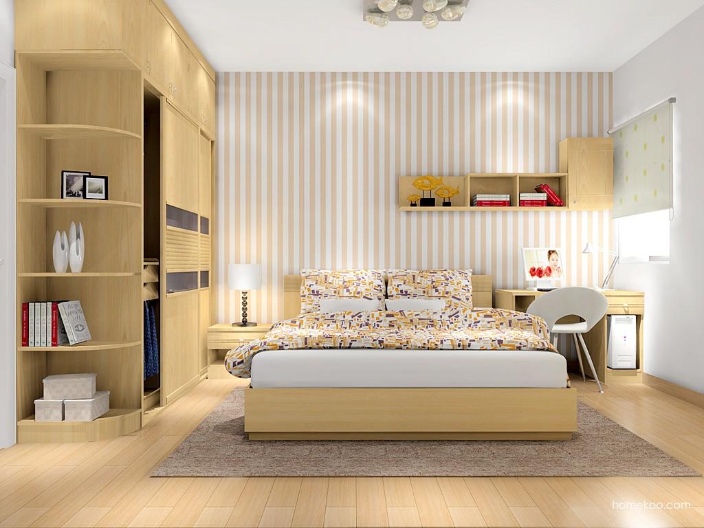 北美枫情卧房家具A12525