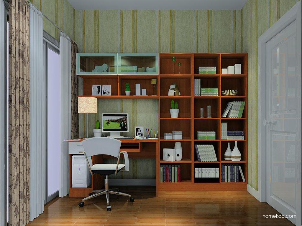 新实用主义书房家具C10756