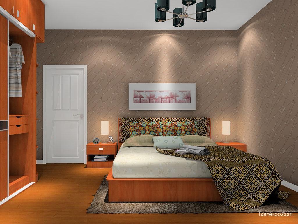 新实用主义卧房家具A12541