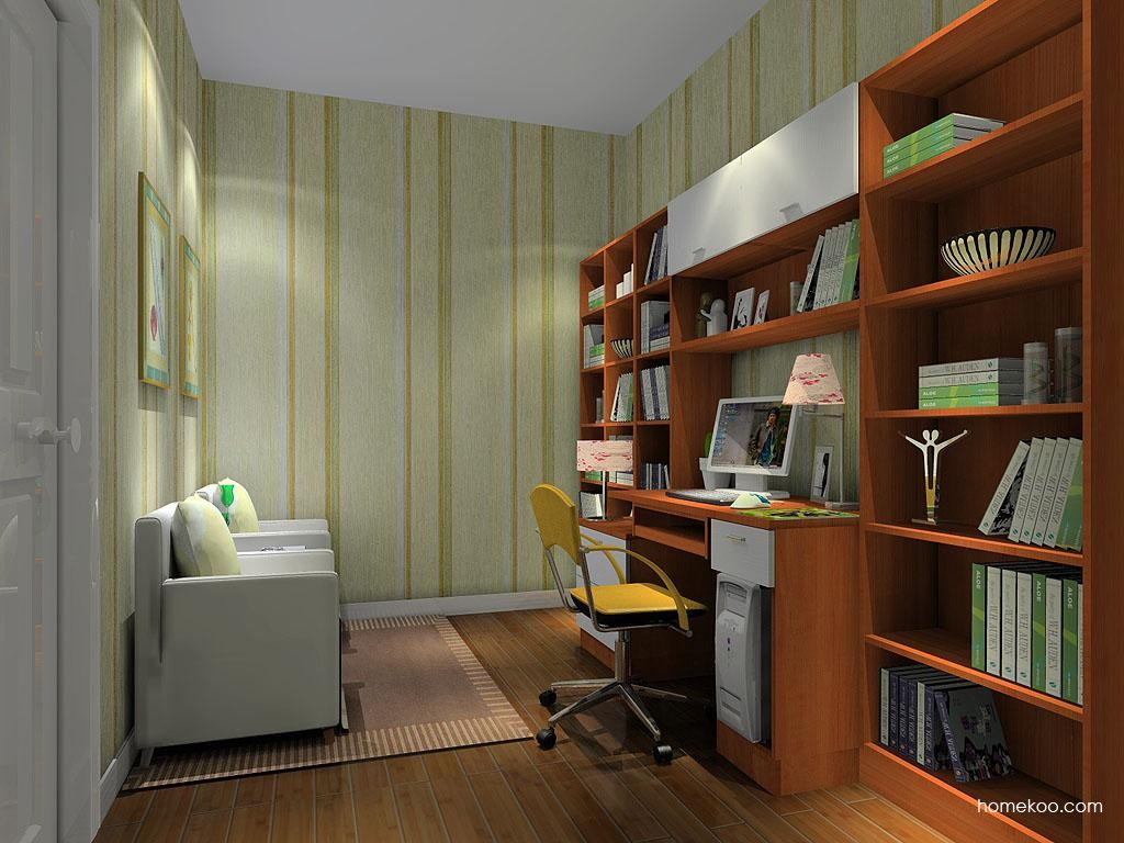 新实用主义书房家具C10760