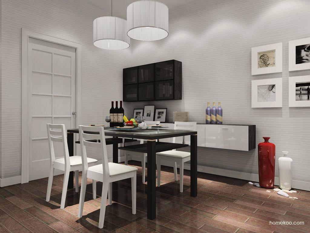 新实用主义餐厅家具E9397