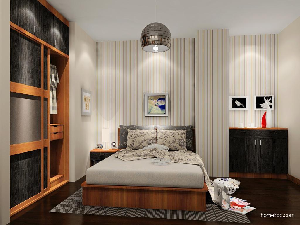 新实用主义卧房家具A12676