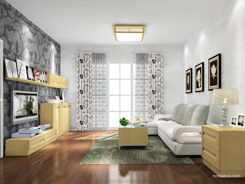 丹麦本色客厅家具D9438
