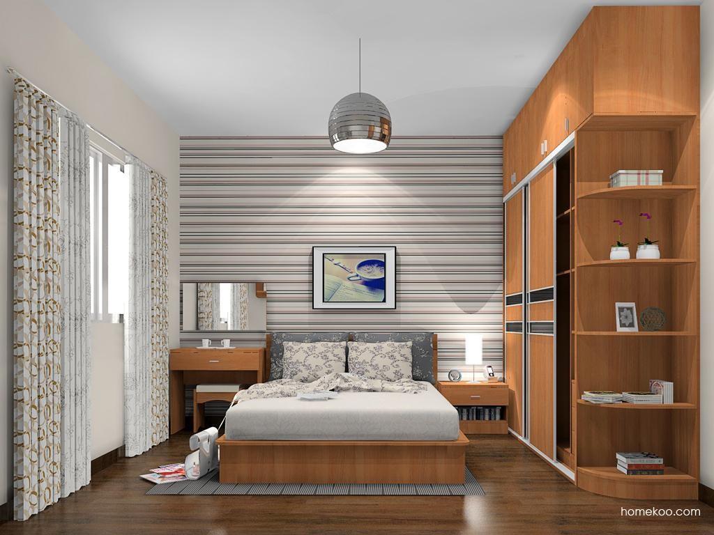新实用主义卧房家具A12710