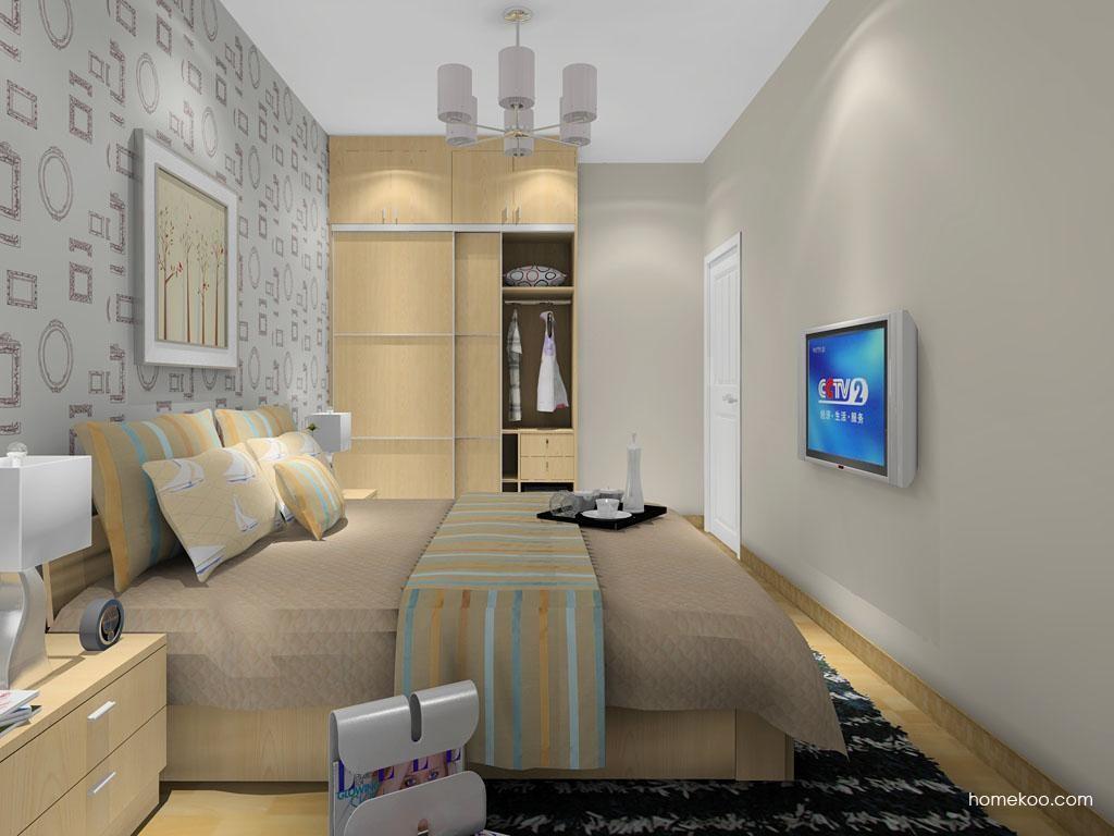 新实用主义卧房家具A12718
