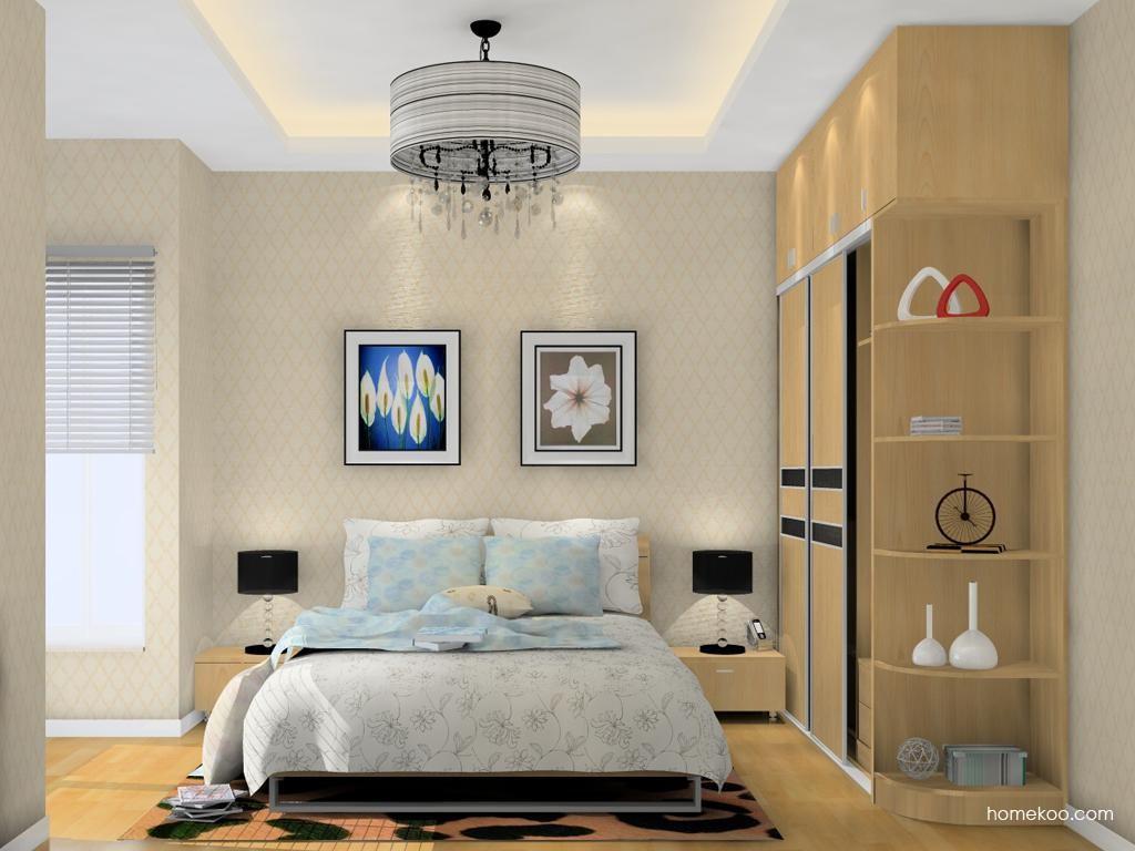 新实用主义卧房家具A12742