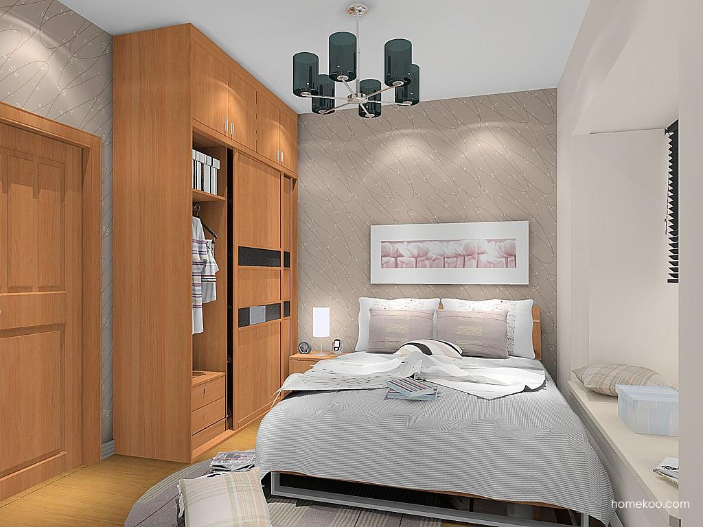 新实用主义卧房家具A12805