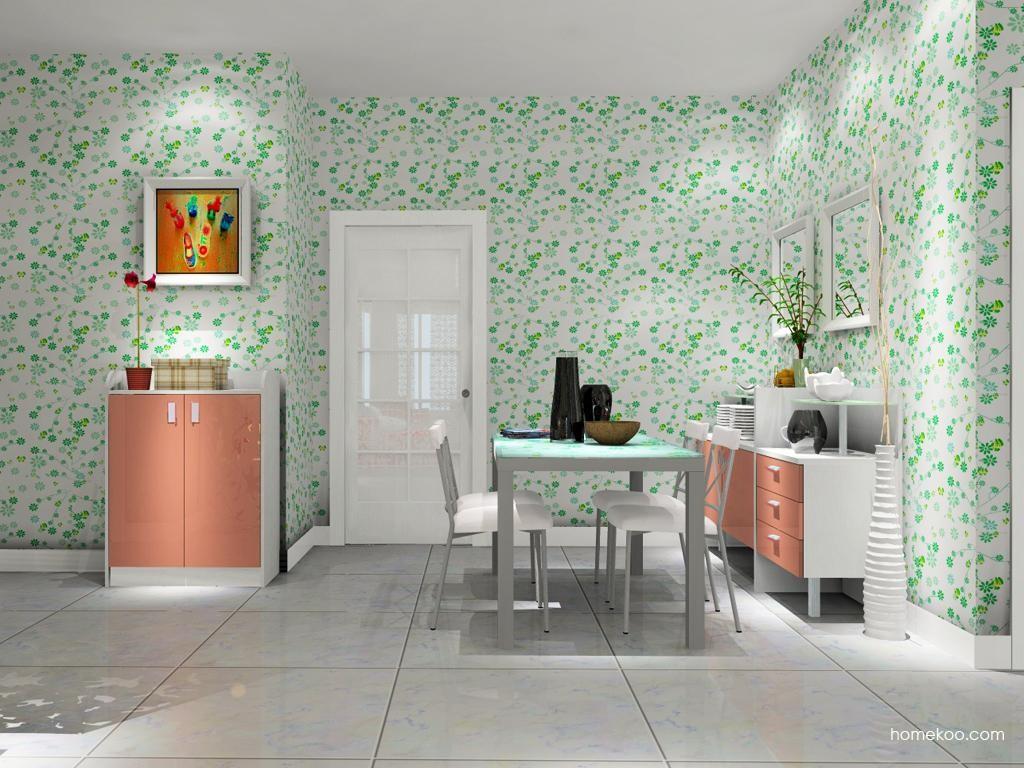 浪漫主义餐厅家具E9607