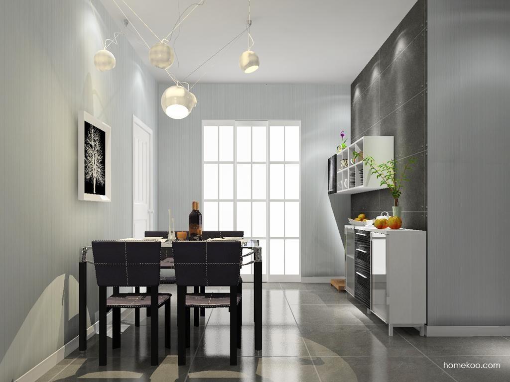 简约主义餐厅家具E9608