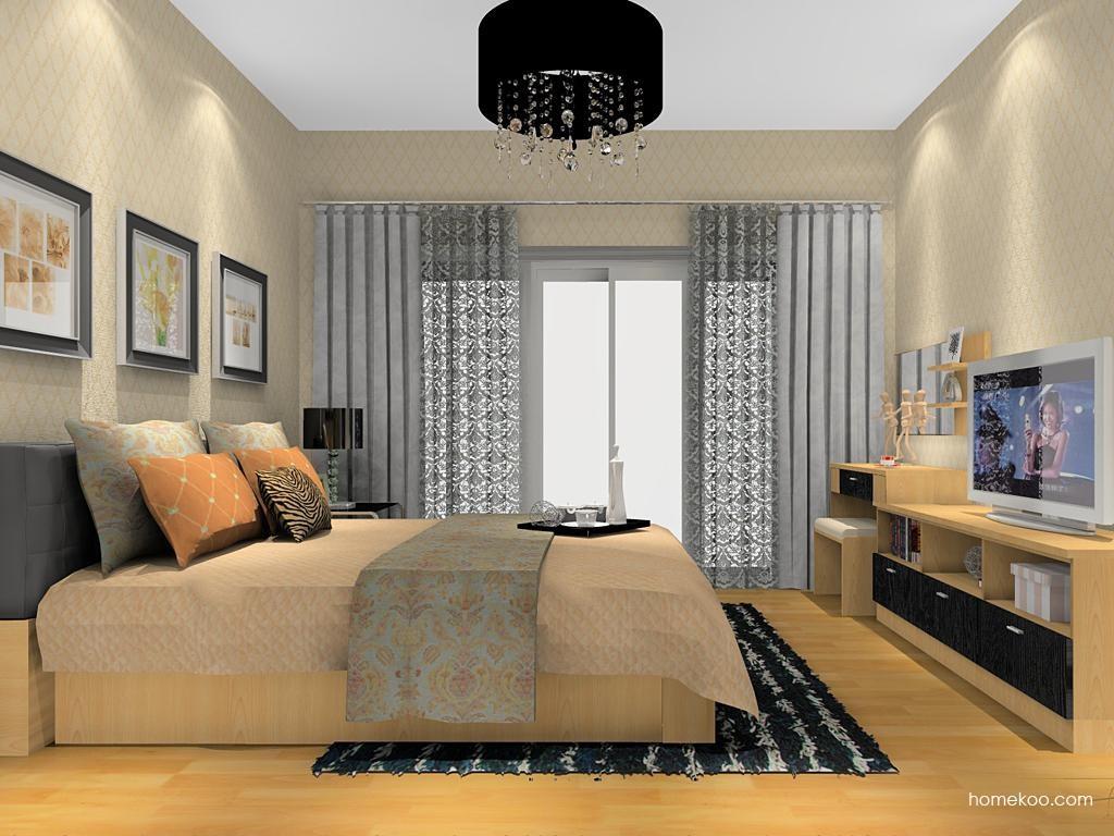 新实用主义卧房家具A12835