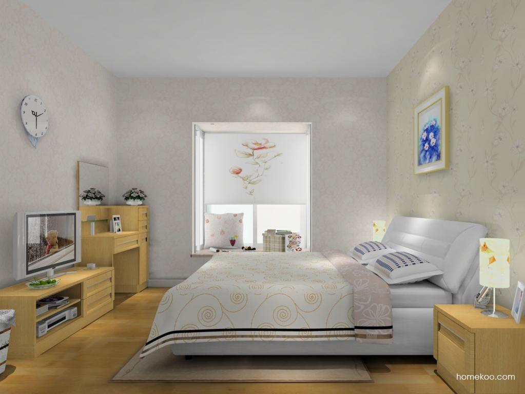 丹麦本色卧房家具A12844