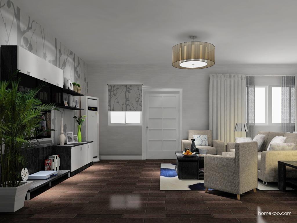 新实用主义客厅家具D11459