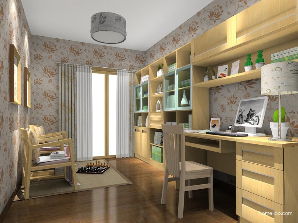 丹麦本色书房家具C10796