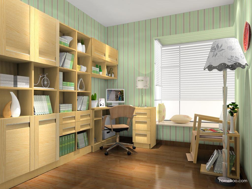 丹麦本色书房家具C10798