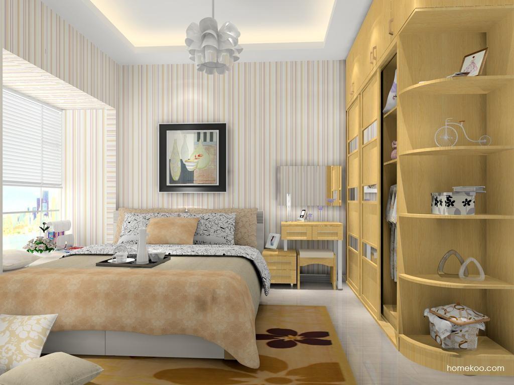 丹麦本色卧房家具A12864
