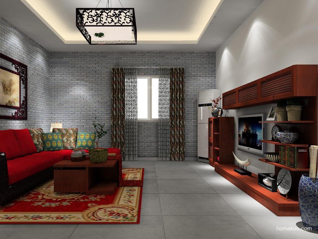 新中式主义客餐厅G12795