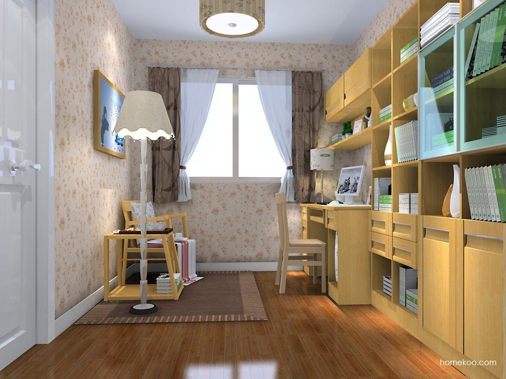 丹麦本色书房家具C10804