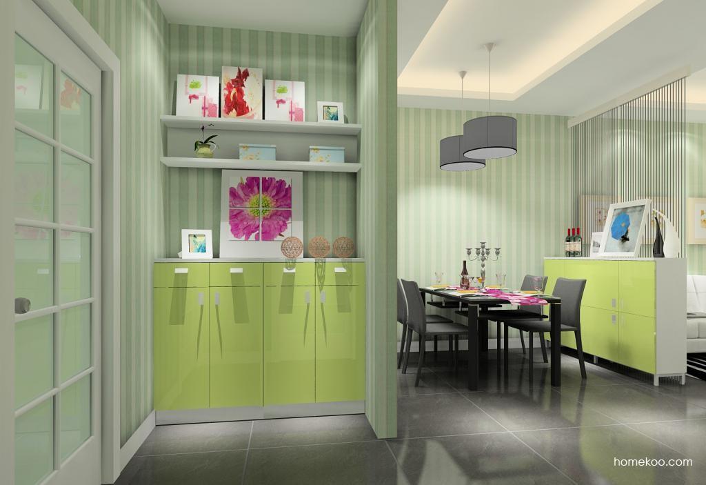 浪漫主义餐厅家具E9756