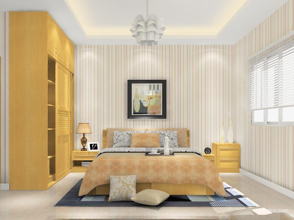丹麦本色卧房家具A12924