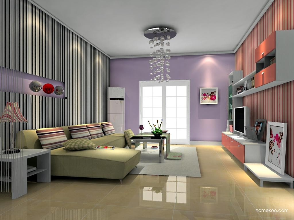 浪漫主义客厅家具D11605