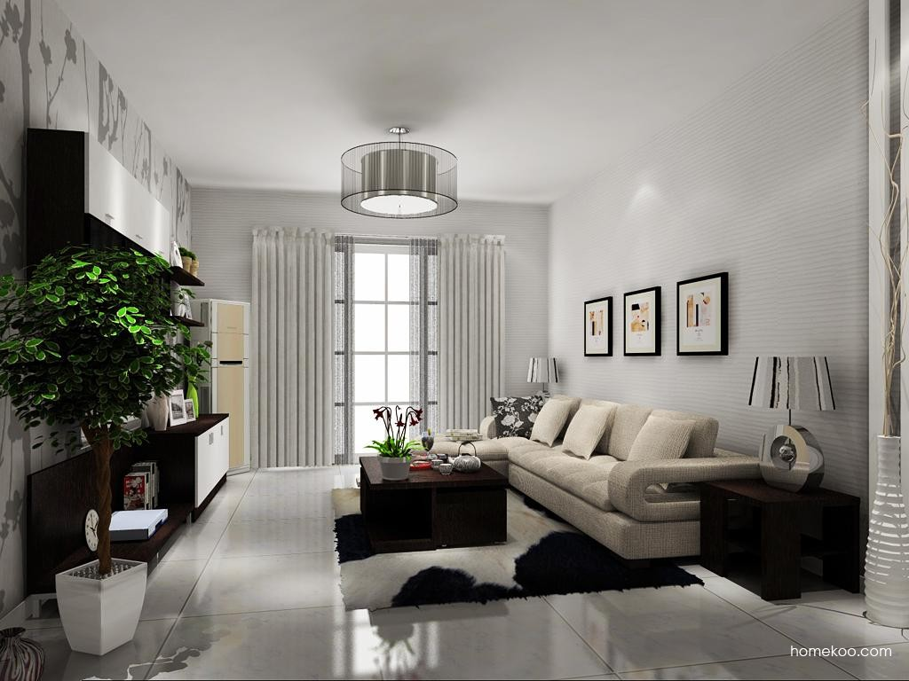 新实用主义客厅家具D11610