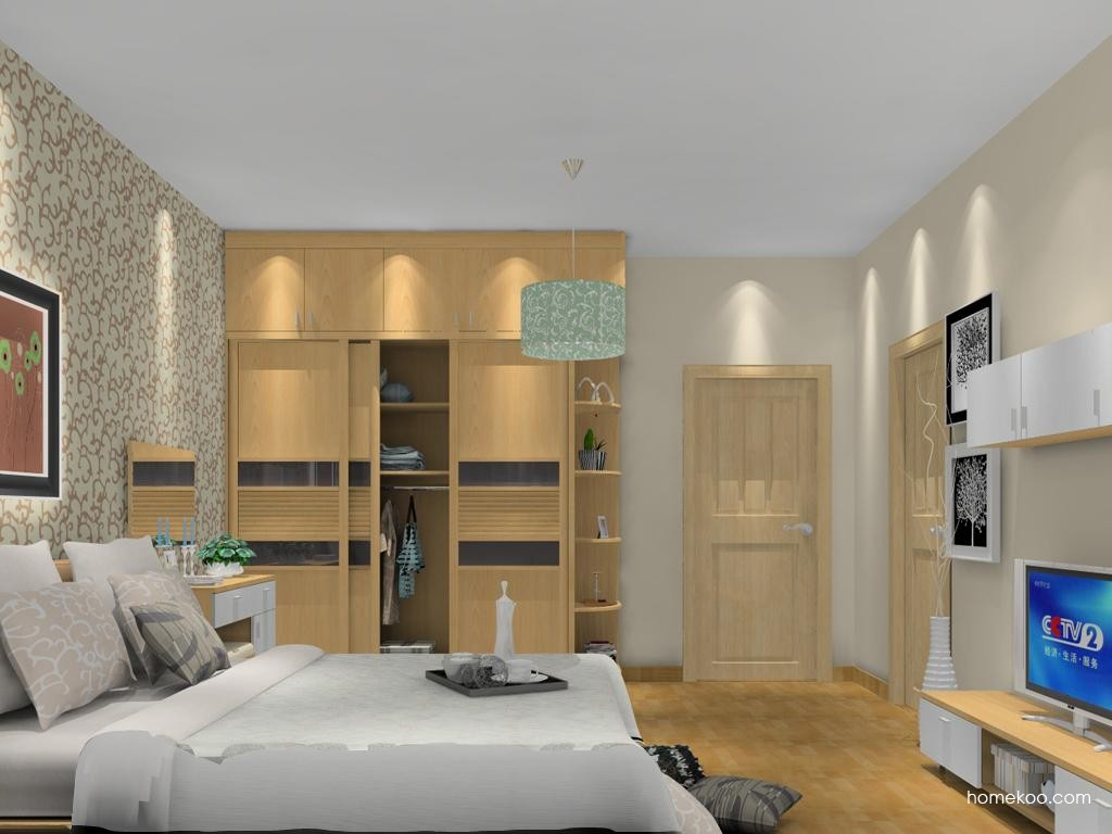 新实用主义卧房家具A12965