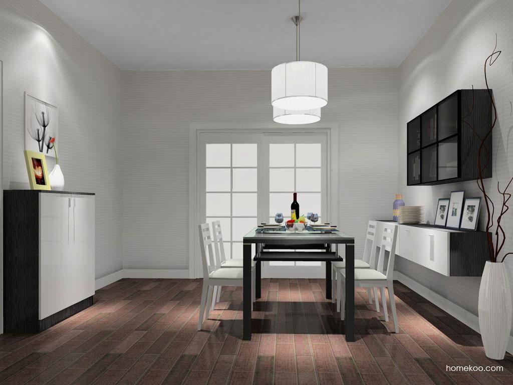 新实用主义餐厅家具E9812