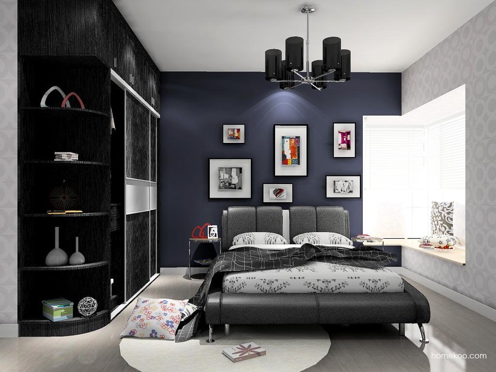 简约主义卧房家具A12975