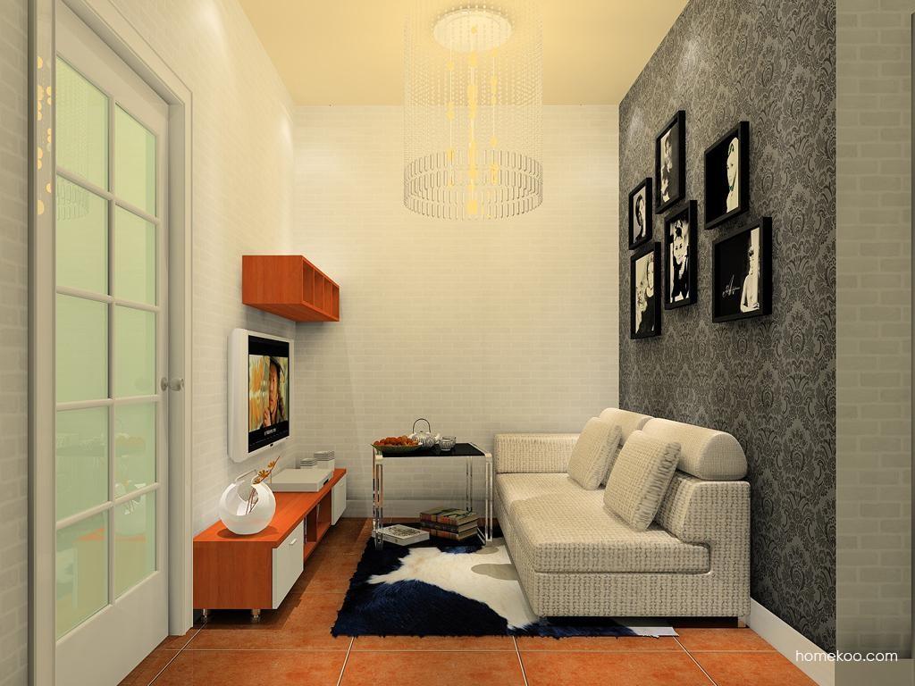 新实用主义客厅家具D11656