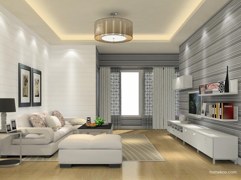 浪漫主义客厅家具D11671