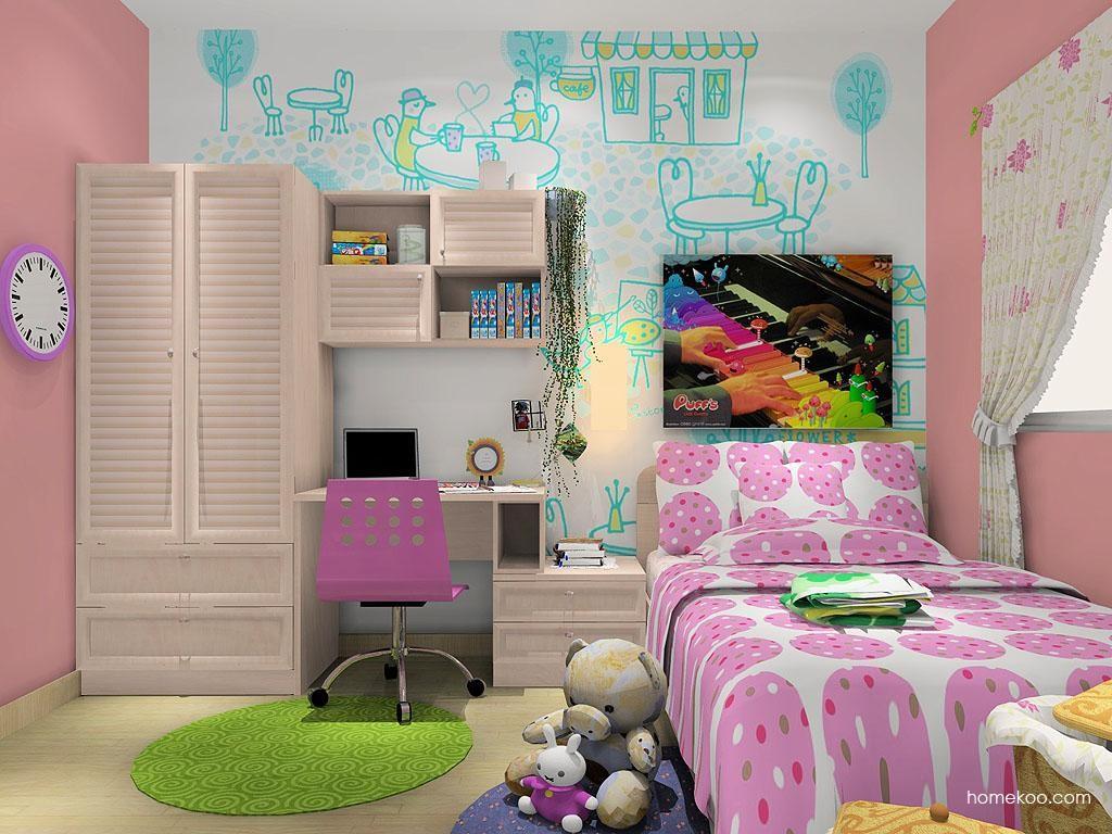 女孩的梦青少年房B11441